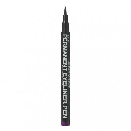 eye liner semi permanent violet