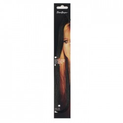 extensions de cheveux : noir