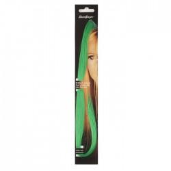 extensions de cheveux : vert