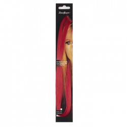 "extension de cheveux ""baby"" rouge"