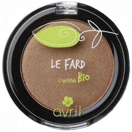Fard à paupières Certifié bio cuivre irisé