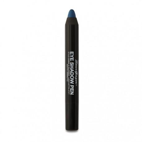 stylo à paupières professionnel bleu