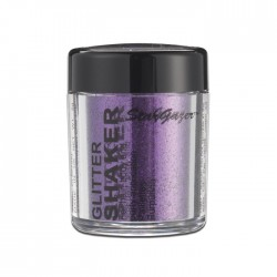 paillettes corps , cheveux & ongles lilas