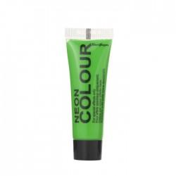 maquillage visage et corps UV vert