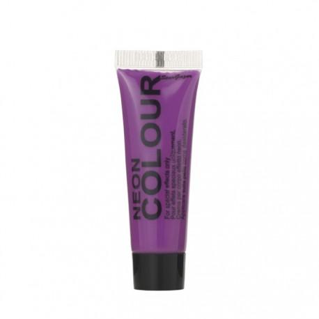 maquillage visage et corps UV violet