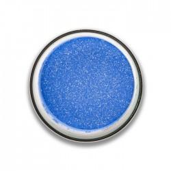 ombre à paupières poudre glitter : bleu