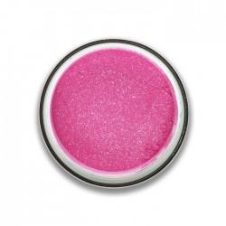 ombre à paupières poudre glitter : rose