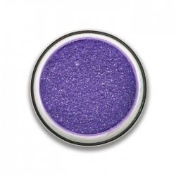 ombre à paupières poudre glitter : violet