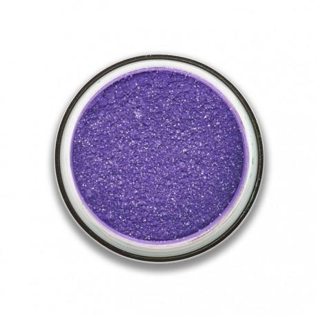 ombre à paupières poudre glitter violet