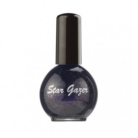 vernis à ongles holographique / pailleté violet