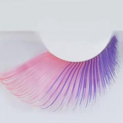 faux cils rose violet - 55