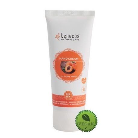 crème bio mains et ongles abricot & fleur de sureau