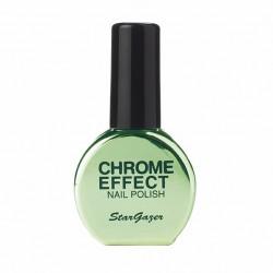 vernis chrome : vert