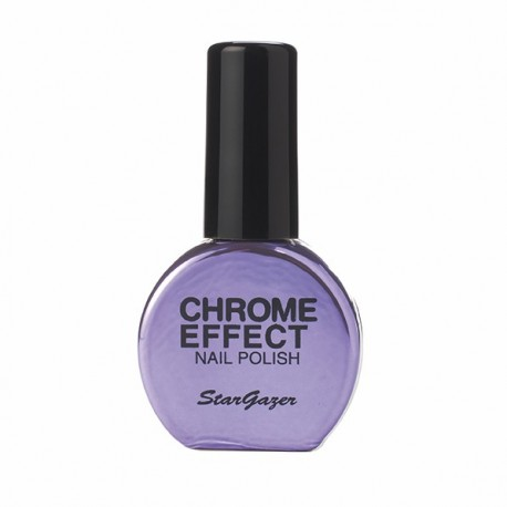 vernis chrome : violet