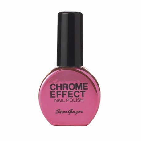 vernis chrome : rouge