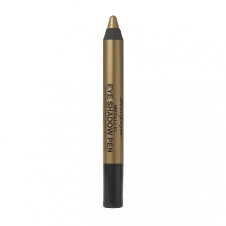 stylo à paupières professionnel métallique bronze