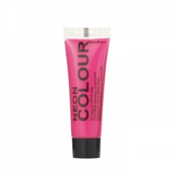 maquillage visage et corps UV rose