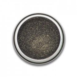 ombre à paupières poudre glitter : noir