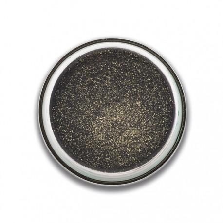 ombre à paupières poudre glitter noire